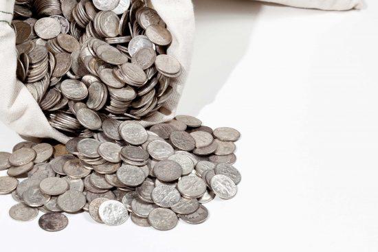 Roona-Trading - zilveren munten